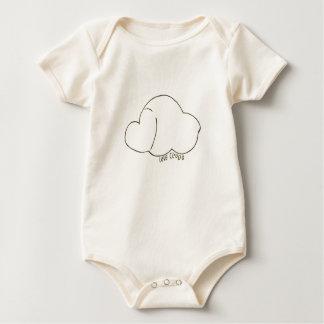 Body Para Bebê Nuvem do amor