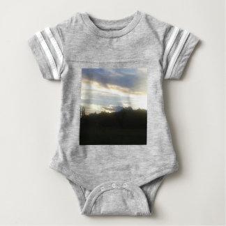 Body Para Bebê Nuvens 1