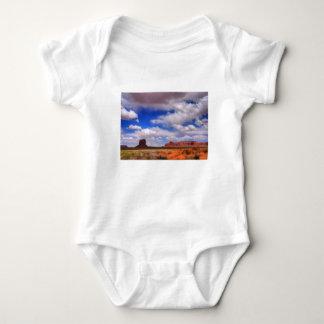 Body Para Bebê Nuvens sobre o deserto
