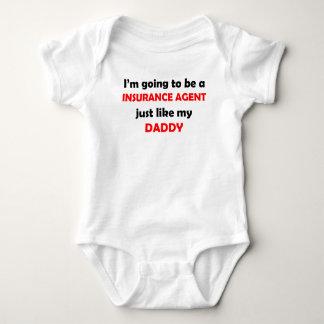 Body Para Bebê O agente de seguros gosta de meu pai