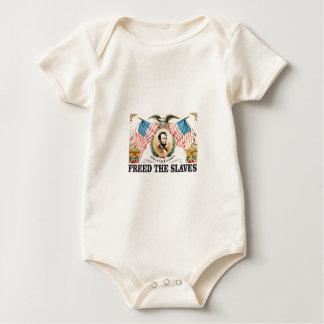 Body Para Bebê O AL livrou os escravos