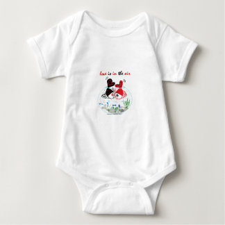 Body Para Bebê O amor está no ar