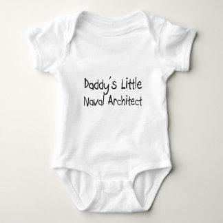 Body Para Bebê O arquiteto naval pequeno do pai