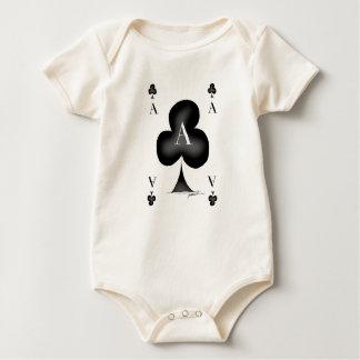 Body Para Bebê O ás de clubes por Tony Fernandes