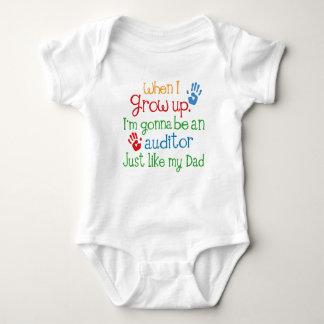 Body Para Bebê O auditor futuro apenas gosta de meu equipamento