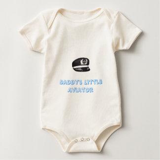 Body Para Bebê O aviador pequeno do pai