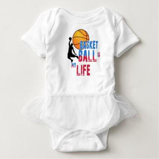 Body Para Bebê O basquetebol é minha vida