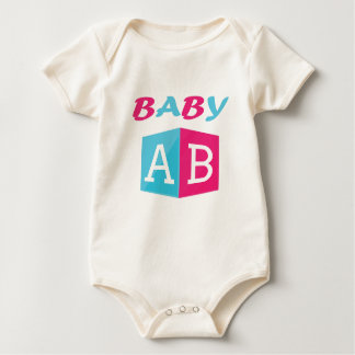 Body Para Bebê O bebê ABC obstrui