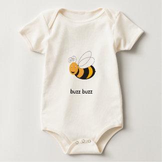 Body Para Bebê O bebê Bumble a abelha