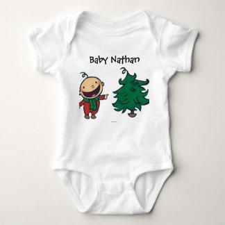 Body Para Bebê O bebê de Leslie Patricelli escolhe uma árvore de