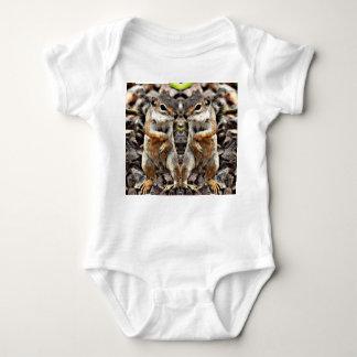 Body Para Bebê O bebê de Mikey gêmeo um T da parte
