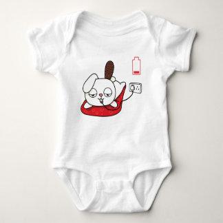 Body Para Bebê O bebê do coelho do Recharge cresce