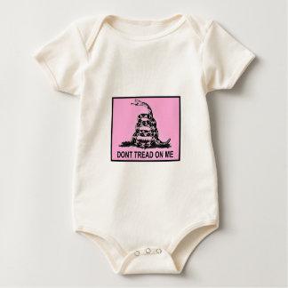 Body Para Bebê O bebê não pisa em mim