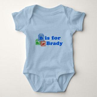 Body Para Bebê O bebê obstrui Brady