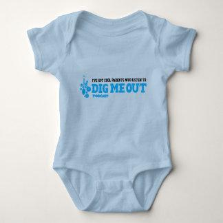 Body Para Bebê O bebê tem os pais legal que escutam para me