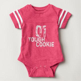 Body Para Bebê O biscoito 01 resistente engraçado/obtem o jérsei