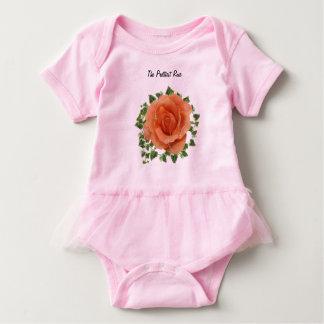 Body Para Bebê O bodysuit cor-de-rosa o mais bonito do tutu