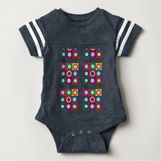Body Para Bebê O Bodysuit DIY do futebol do bebê adiciona a