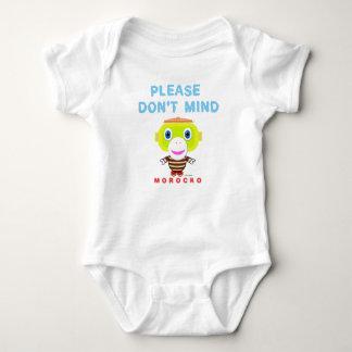 Body Para Bebê O Bodysuit do bebê   por favor não se ocupa por