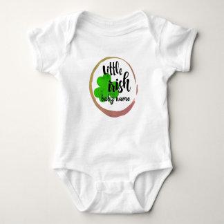 Body Para Bebê O bodysuit do dia do St. Paddie personaliza