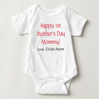 Body Para Bebê Ø Bodysuit feliz do bebê do dia das mães