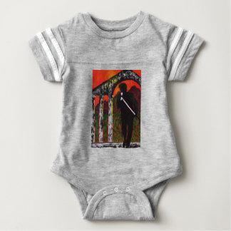 Body Para Bebê O cantor de rocha