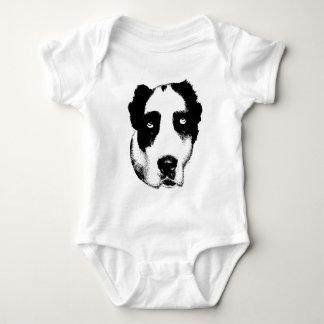 Body Para Bebê O cão de observação