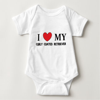 Body Para Bebê o casaco encaracolado ret o amor