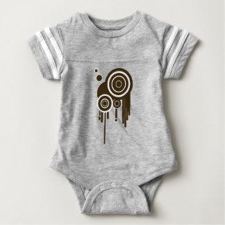 Body Para Bebê O círculo visa o gotejamento