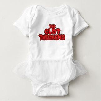 Body Para Bebê O coágulo engrossa