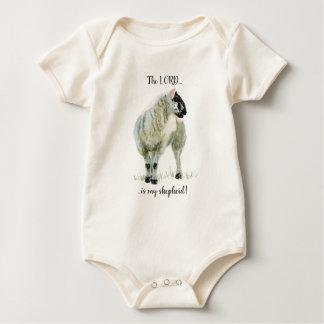 Body Para Bebê O cordeiro pequenino, O SENHOR é meu pastor!