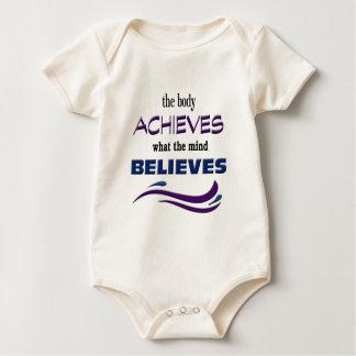Body Para Bebê O corpo consegue, mente acredita