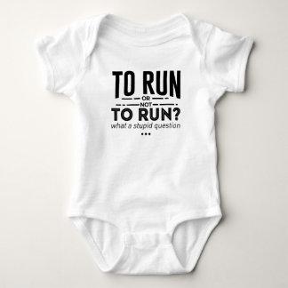 Body Para Bebê O corredor funcionado os corredores é design da