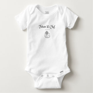Body Para Bebê O cozinheiro chefe futuro gosta da mamã!