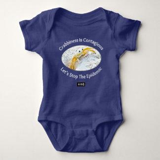 Body Para Bebê O Crabbiness é engraçado contagioso