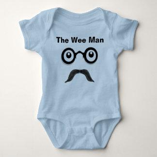 Body Para Bebê O Creeper pequenino da criança do homem