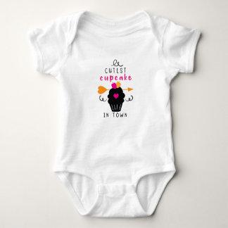 Body Para Bebê O cupcake o mais bonito na cidade