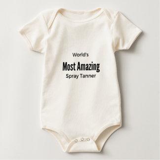 Body Para Bebê O curtidor o mais surpreendente do pulverizador do