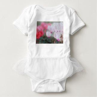 Body Para Bebê O Cyclamen floresce o mosaico