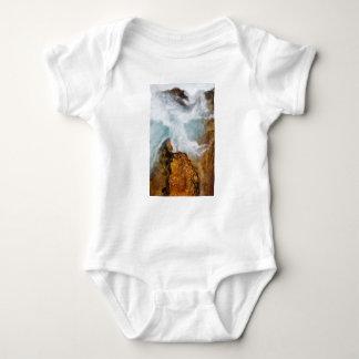 Body Para Bebê O desfiladeiro de Soteska Vintgar no outono