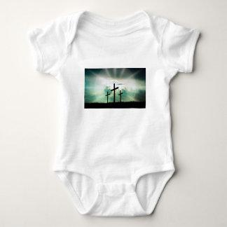 Body Para Bebê O deus transversal Jesus da fé do cristo nubla-se