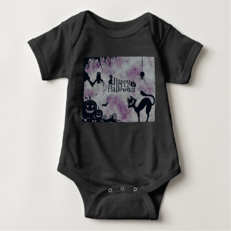 Body Para Bebê O Dia das Bruxas feliz