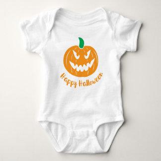 Body Para Bebê O Dia das Bruxas feliz, veste do bebê da abóbora,