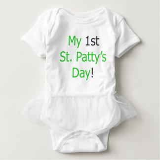 Body Para Bebê O dia do meu ø rissol do St.!