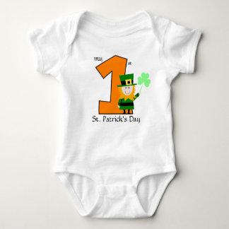 Body Para Bebê O dia do meu ø St Patrick