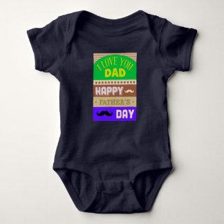 Body Para Bebê O dia dos pais comemora