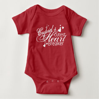 Body Para Bebê O disjuntor o mais bonito do coração do Cupido