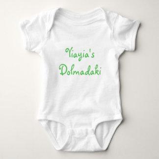 Body Para Bebê O Dolmadaki de Yiayia