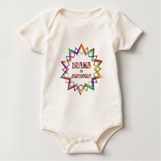 Body Para Bebê O drama é impressionante