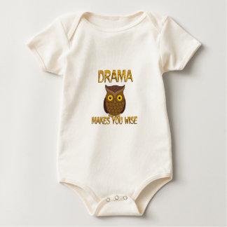 Body Para Bebê O drama fá-lo sábio